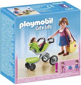 Maminka na nákupu - Playmobil