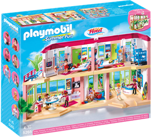 Velký hotel - Playmobil - novinka 2013