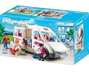 Hotelový autobus - Playmobil - novinka 2013