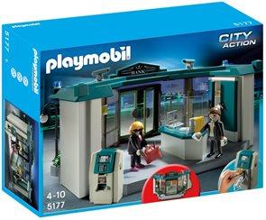 Banka s trezorem - Playmobil - novinka 2013