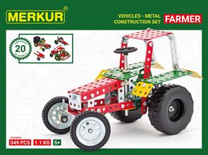 Merkur stavebnice - Farmer Set