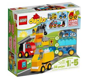 LEGO DUPLO 10816 Moje první autíčka a náklaďáky - DUPLO LEGO Kostičky, věk 1,5-5, novinka 2016