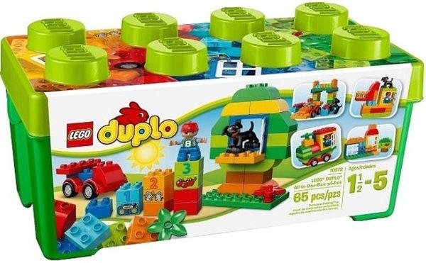 LEGO DUPLO 10572 Box plný zábavy - DUPLO Kostičky