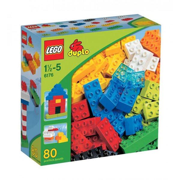 LEGO DUPLO 6176 Základní kostky - sada Deluxe DUPLO Kostičky