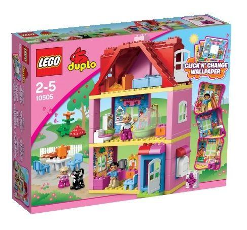 LEGO DUPLO 10505 Domek na hraní - DUPLO LEGO Ville, Doprava zdarma