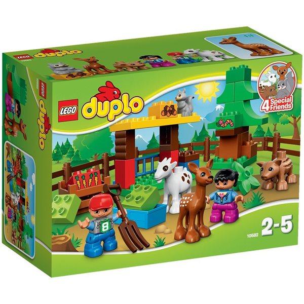 LEGO DUPLO 10582 Lesní zvířátka DUPLO LEGO Město, novinka 2015, Sleva 20%