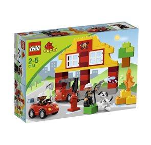 LEGO DUPLO 6138 Moje první hasičská stanice - DUPLO LEGO Ville