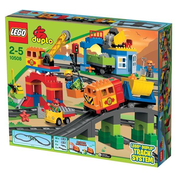 LEGO DUPLO 10508 Vláček Deluxe - DUPLO LEGO Ville, Sleva 10%, Doprava zdarma