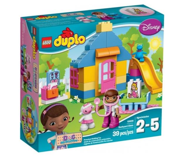 LEGO DUPLO 10606 - Doktorka Plyšáková: Ordinace na dvorku,LEGO DUPLO Disney Junior, novinka 2015