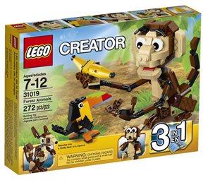 LEGO Creator 31019 Zvířátka z džungle