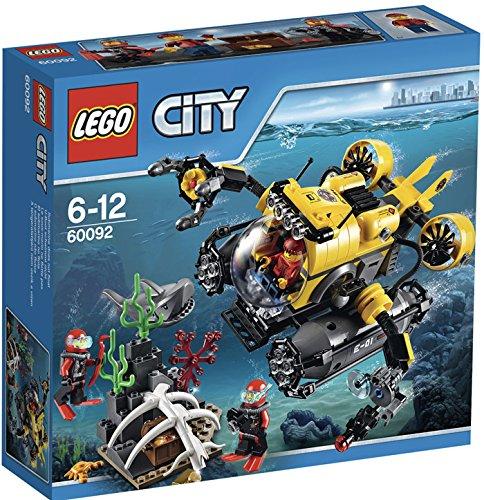 LEGO City 60092 Hlubinná ponorka, novinka 2015