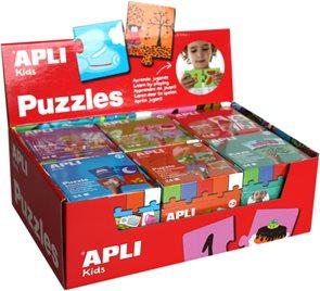 Sada výukových puzzlí pro děti od 3 let / počítaní, povolání, dopravní prostředky, roční období, dům