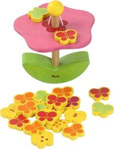 Balancující květina / didaktická skládačka/