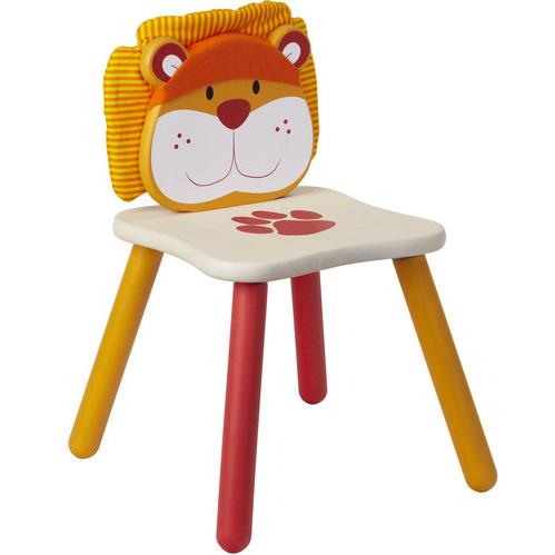Dětská dřevěná židle Lev