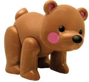První přátelé - Medvěd hnědý