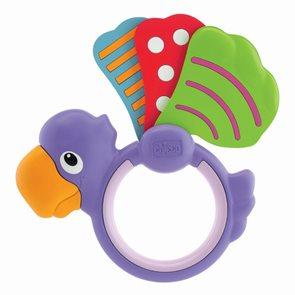 Chrastítko papoušek křidýlko