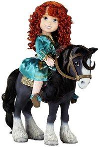 Panenka Merida a kůň Angus/ 37 cm