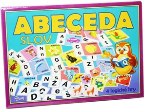 Abeceda slov - stolní hra / 4 logické hry/