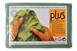 Keramická hmota Color Plus bez výpalu - 0,5 kg zelená