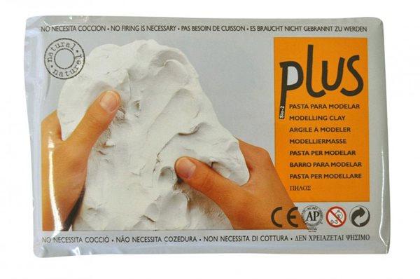 Keramická hmota Plus bez výpalu - 0,5 kg bílá