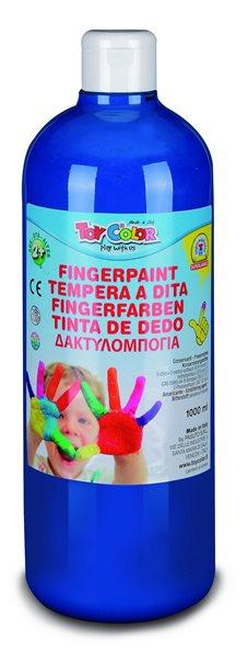 Prstová barva Toy Color - 1000 ml - modrá