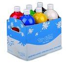Prstové barvy Toy Color - sada 6 x 1000 ml