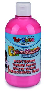 Temperová barva Toy Color - 500 ml - pastelová tmavě růžová