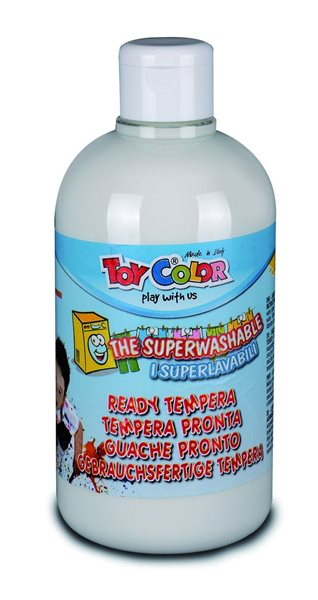 Temperová barva Toy Color - 500 ml - bílá