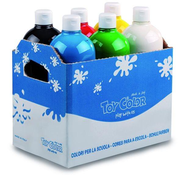 Temperová barva Toy Color - box 6 x 1000 ml