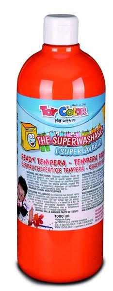 Temperová barva Toy Color - 1000 ml - oranžová