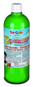 Temperová barva Toy Color - 1000 ml - zářivě zelená