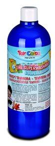 Temperová barva Toy Color - 1000 ml - kobaltově modrá