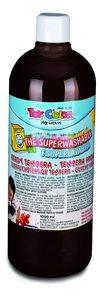Temperová barva Toy Color - 1000 ml - tmavě hnědá