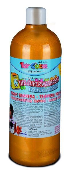 Temperová barva Toy Color - 1000 ml - zlatá