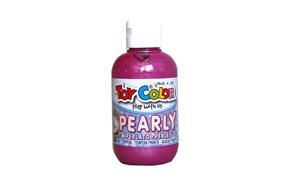 Temperová barva Toy Color - 250 ml - perleťová červená