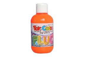 Temperová barva Toy Color - 250 ml - FLUO oranžová