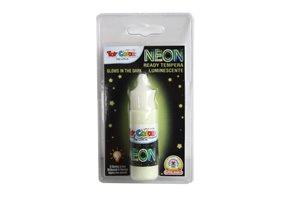Temperová barva NEON - 25 ml - fosforeskující zelená