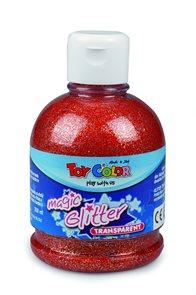 Magická glitrová barva - 250 ml - červená