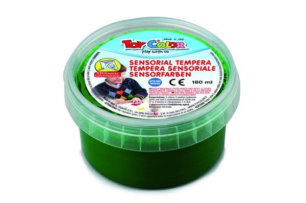 Temperová barva TOY COLOR se strukturou - 180 ml - barva zelená