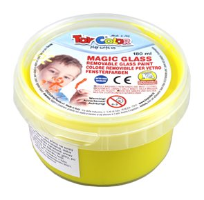 Barva na sklo TOY Color 180 ml - žlutá