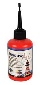 Barva na sklo Nerchau 80 ml - rumělková červeň