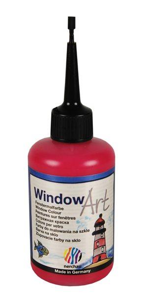 Barva na sklo Nerchau 80 ml - karmínová červeň