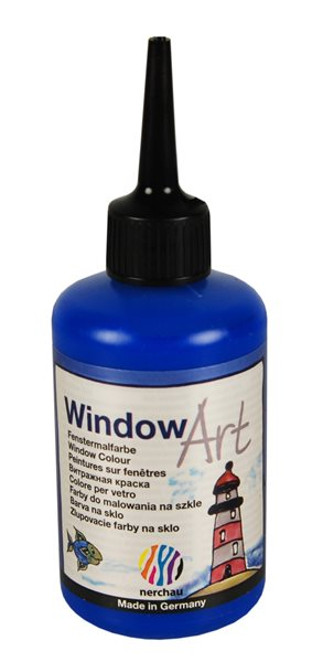 Barva na sklo Nerchau 80 ml - modrá