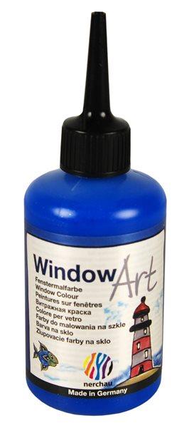 Barva na sklo Nerchau 80 ml - modrý glitr