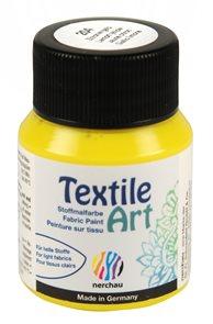 Barva na textil Nerchau - Textile Art - 59 ml - citrón