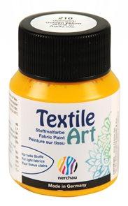 Barva na textil Nerchau - Textile Art - 59 ml - zlatožlutá