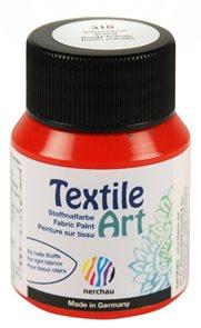 Barva na textil Nerchau - Textile Art - 59 ml - šarlatově rudá