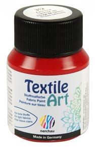 Barva na textil Nerchau - Textile Art - 59 ml - karmínová