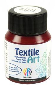 Barva na textil Nerchau - Textile Art - 59 ml - bordó
