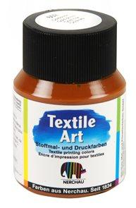 Barva na textil Nerchau - Textile Art - 59 ml - zlatá okr